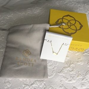Kendra Scott Fern Necklace with Box and Dust Bag